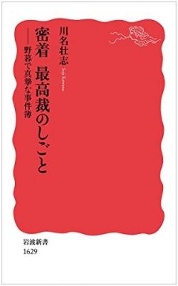 密着最高裁のしごと 野暮で真摯な事件簿 (岩波新書 新赤版)