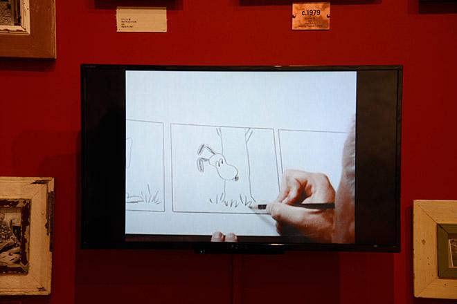 『ピーナッツ』を描くシュルツの記録映像