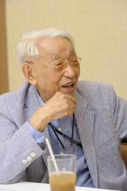 101歳のいまもかくしゃくとしている佐々木氏