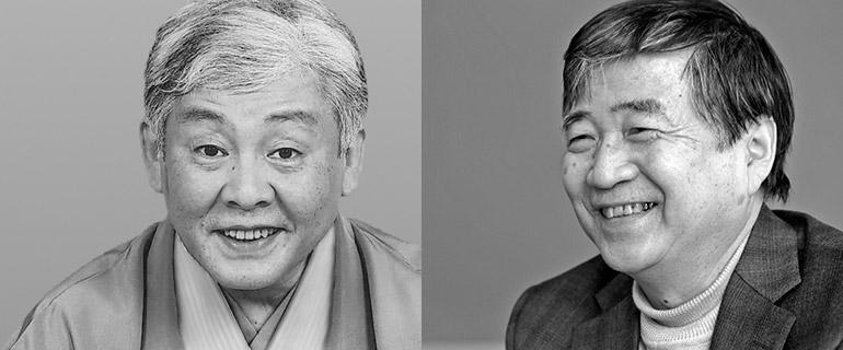 噺家・柳家喬太郎さんと作家・北村薫さん