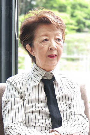『わたしが子どもをもたない理由(わけ)』の著者・下重暁子さん