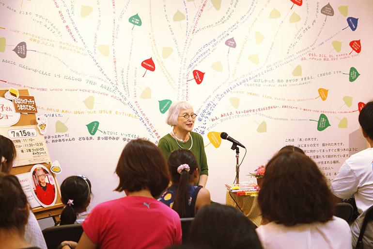 トークショーでは会場にいらした方からの質問にもお答えし、角野さんの物語への愛情が伝わる濃密なイベントとなりました