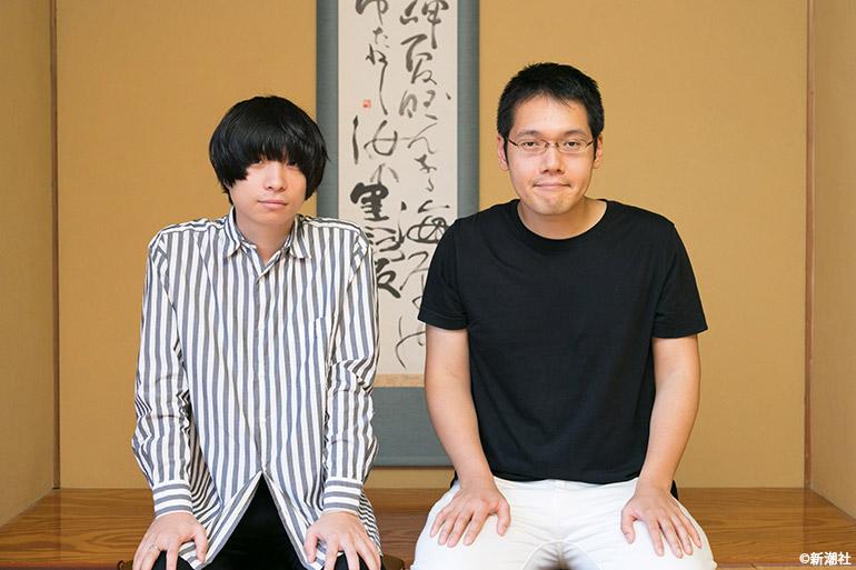 ミュージシャンの尾崎世界観と講談師の神田松之丞