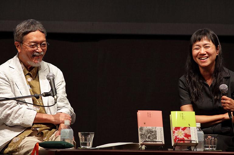 池澤夏樹さんと角田光代さん