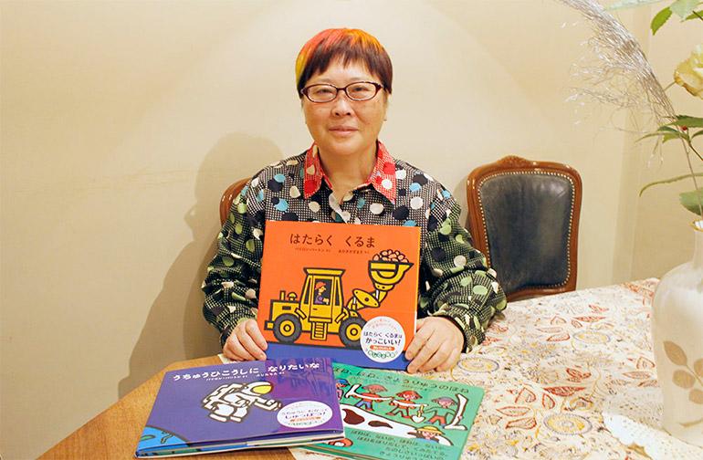復刊に携わった児童文学評論家の赤木かん子さん