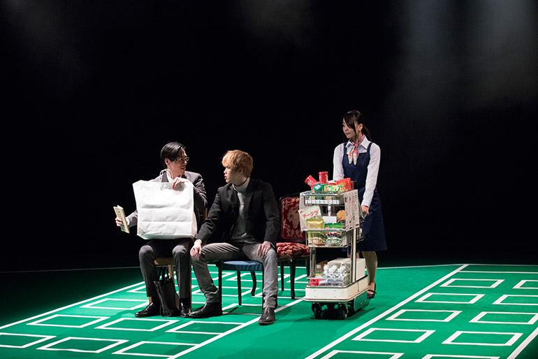 舞台「マリアビートル」公開リハーサルより