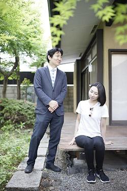 磯田道史さんと朝吹真理子さん