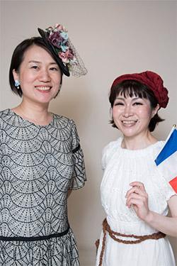 吉川トリコさんと中島万紀子さん