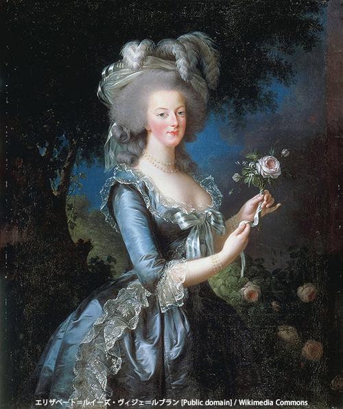 王妃マリー・アントワネット(リザベート=ルイーズ・ヴィジェ=ルブラン [Public domain] / Wikimedia Commons)
