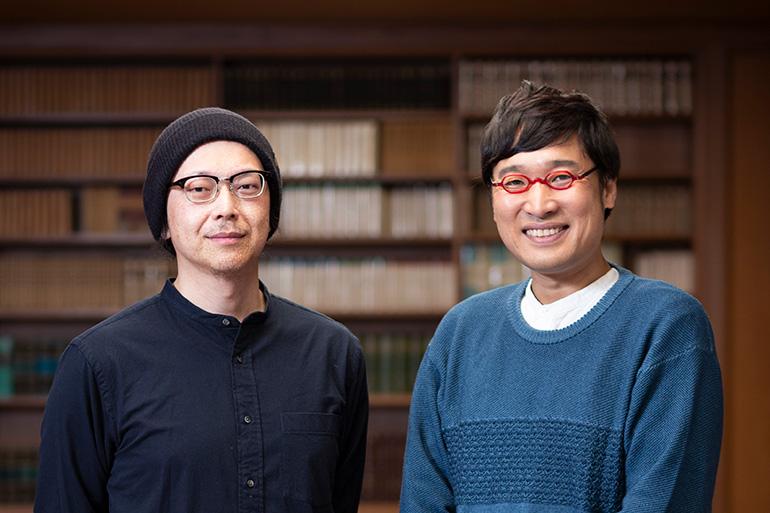宮川サトシさんと南海キャンディーズの山里亮太さん