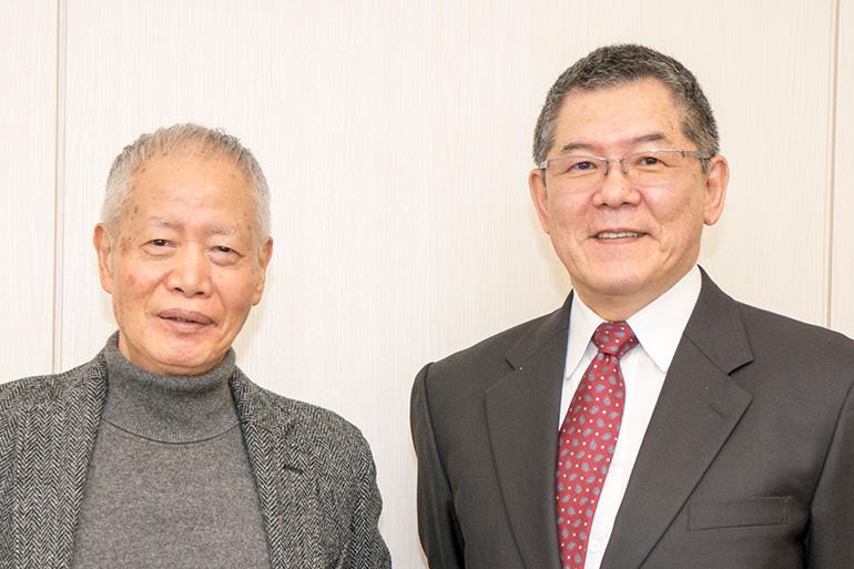 今野敏さんと角川春樹さん