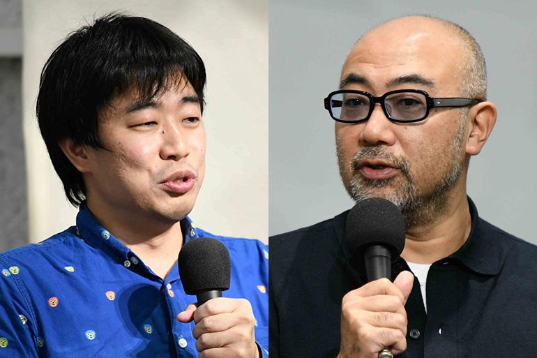 人工知能研究者の松田雄馬さんと一橋大学教授の楠木建さん