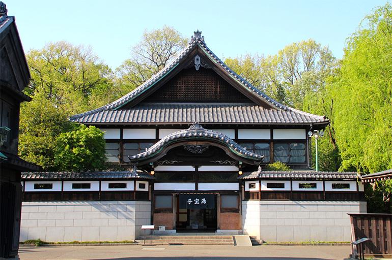 江戸東京たてもの園にある銭湯「子宝湯」