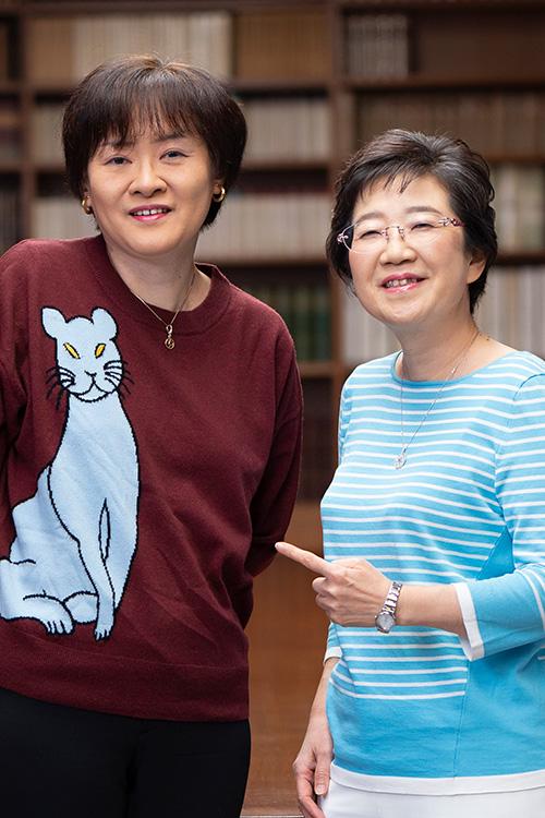 上橋菜穂子さんと佐藤多佳子さん