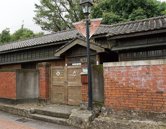 かつて鉱山技師の住宅だった日本家屋。映画『牯嶺街少年殺人事件』の撮影に使われた