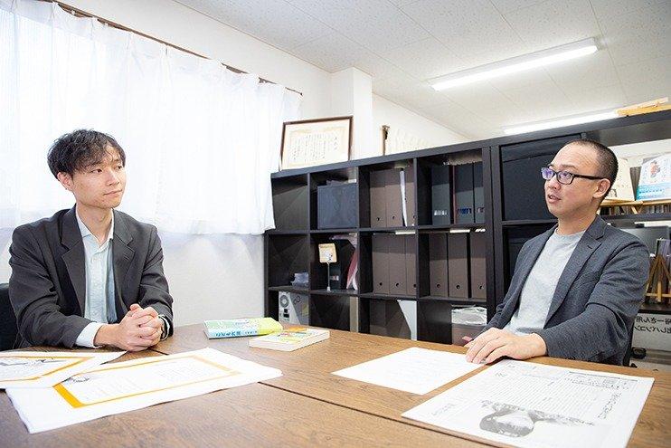 (写真左から)山崎聡一郎さん、石井志昂さん